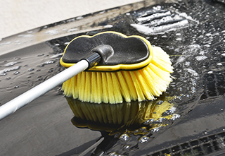 What brush is good for car washing