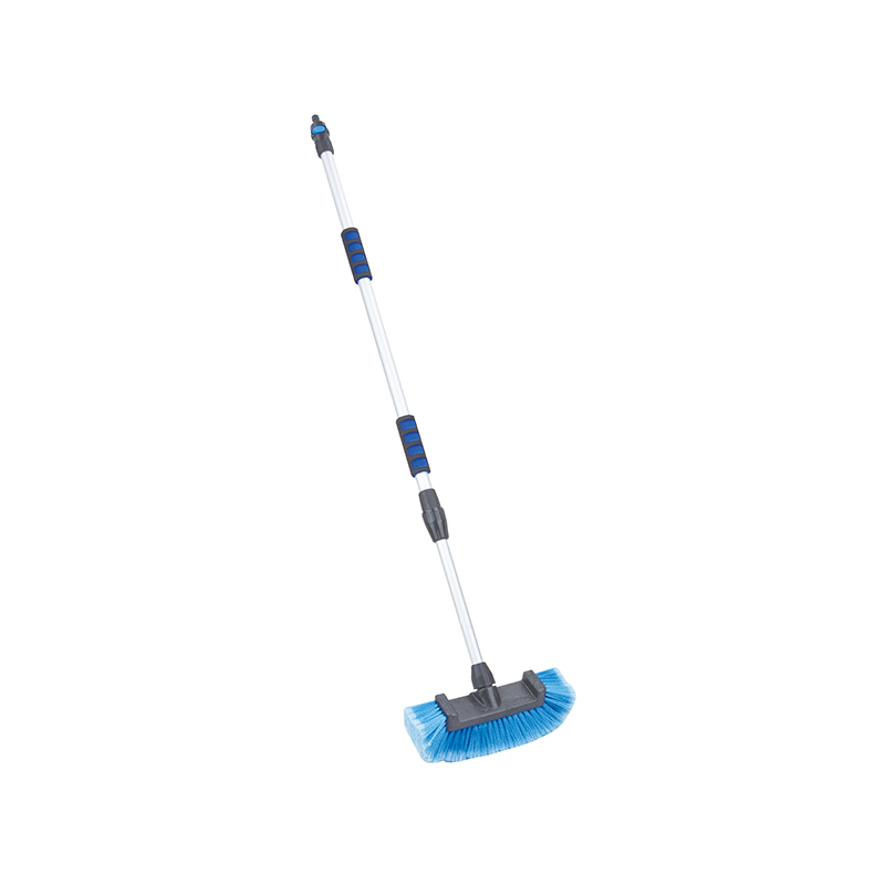CAR WASH BRUSH-Long Handle Portable Blue Car Wash Broom