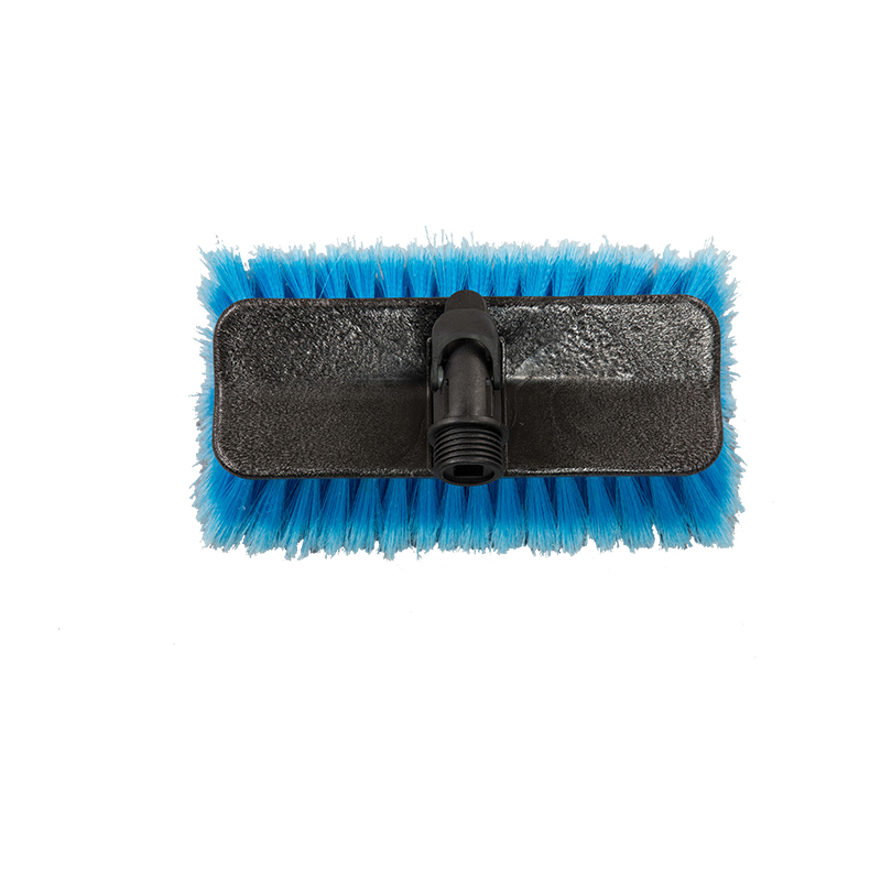 CAR WASH BRUSH HEAD-2 Face Car Brush Head with Block interface