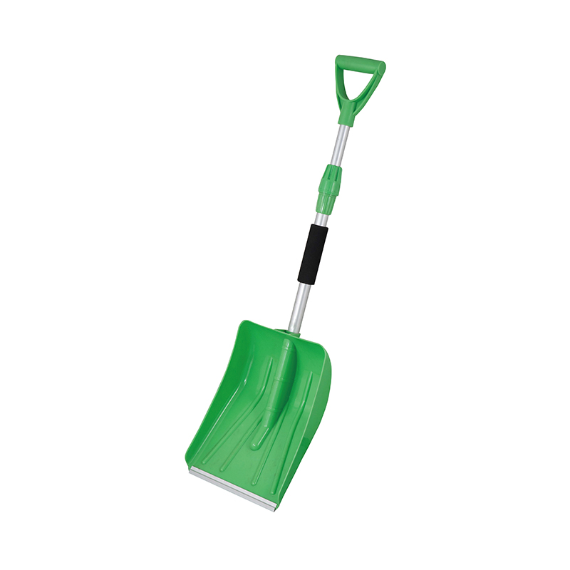 SNOW SHOVEL-Adjustable Handle Plastic Snow Shovel