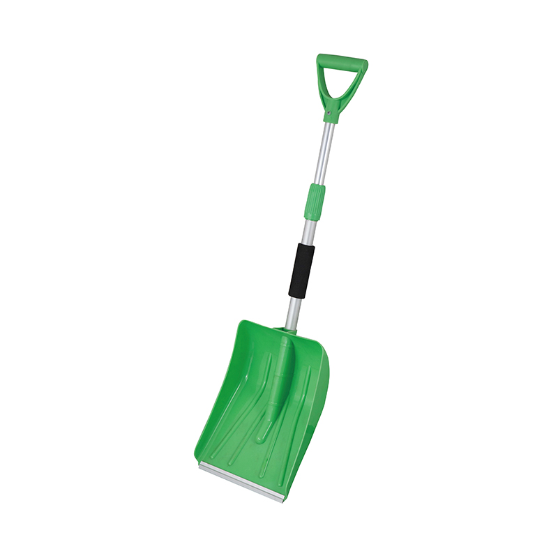-Telescopic Handle Adjustable Snow Shovel