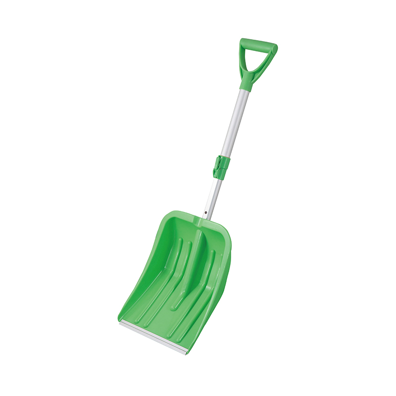 SNOW SHOVEL-Plastic Snow Shovel With Telescopic Long Handle