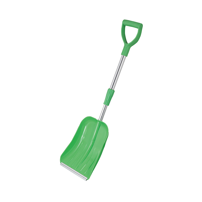 SNOW SHOVEL-Adjustable Long Handle Plastic Snow Shovel