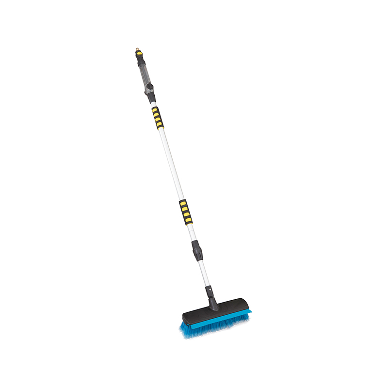 CAR WASH BRUSH-Utility Long Handle Plastic Soft Bristle Car Wash Broom