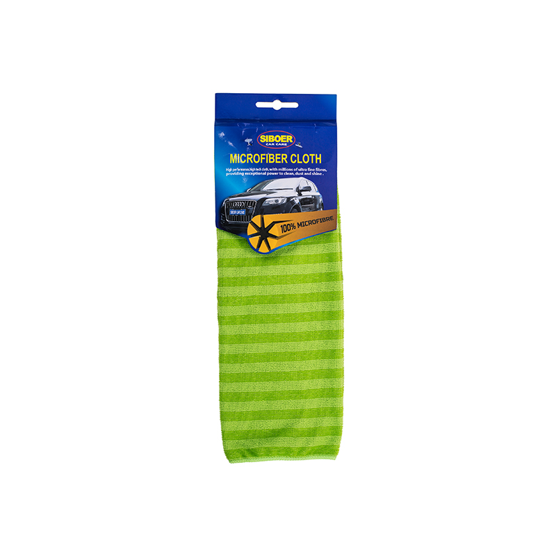 Why are microfiber car wash towels used for car cleaning?