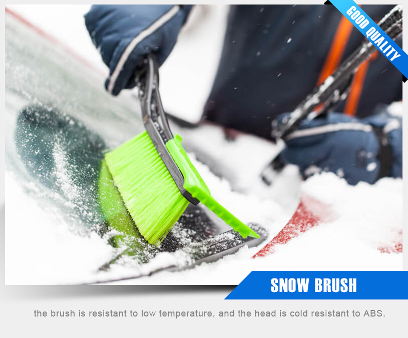 Using a snowbrush is a great idea during all parts of the year excep