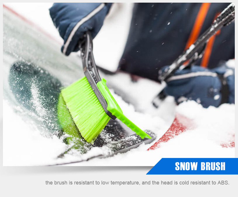 There is no reason why you cannot use a snow broom or a snow machine to get rid of the snow from your driveway